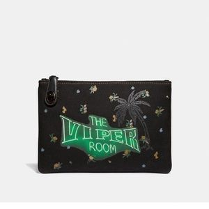 Coach The Viper Room Vintage Clutch